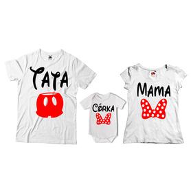 Komplet koszulek dla rodziców + body 08