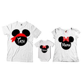 Komplet koszulek dla rodziców + body 09