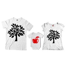 Komplet koszulek dla rodziców + body 13
