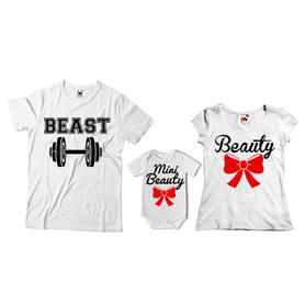 Komplet koszulek dla rodziców + body 18