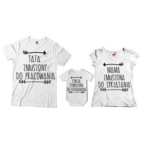 Komplet koszulek dla rodziców + body 19