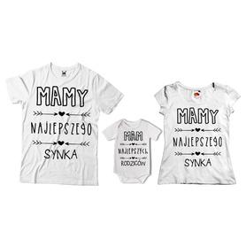 Komplet koszulek dla rodziców + body 20