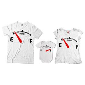 Komplet koszulek dla rodziców + body 26