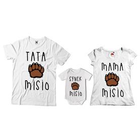 Komplet koszulek dla rodziców + body 27