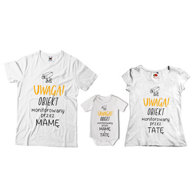 Komplet koszulek dla rodziców + body 30