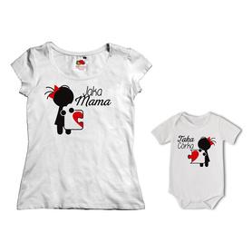 Komplet koszulka dla Mamy + body 03