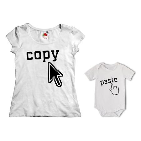 689682a2 Komplet koszulka dla Mamy + body 05