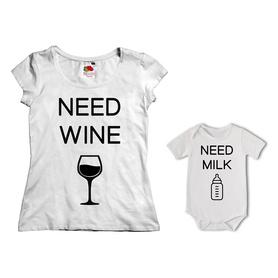 Komplet koszulka dla Mamy + body 13