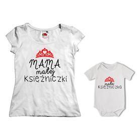 Komplet koszulka dla Mamy + body 15
