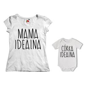 Komplet koszulka dla Mamy + body 21