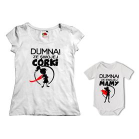 Komplet koszulka dla Mamy + body 26