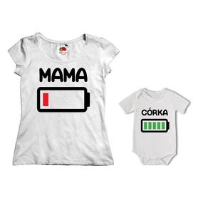 Komplet koszulka dla Mamy + body 27