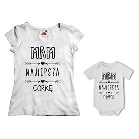 Komplet koszulka dla Mamy + body 29