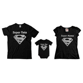 Komplet koszulek dla rodziców + body C03