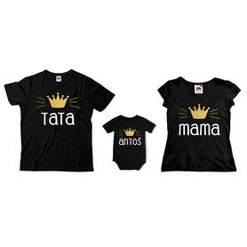 Komplet koszulek dla rodziców + body C05
