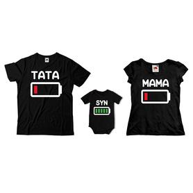Komplet koszulek dla rodziców + body C07