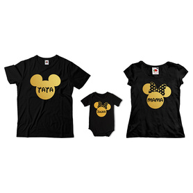 Komplet koszulek dla rodziców + body C10