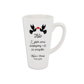 Kubek latte podziękowanie dla Rodziców 04
