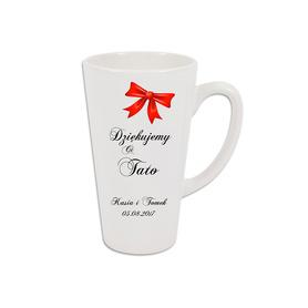 Kubek latte podziękowanie dla Rodziców 06