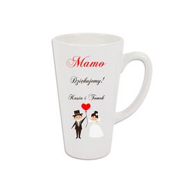 Kubek latte podziękowanie dla Rodziców 09