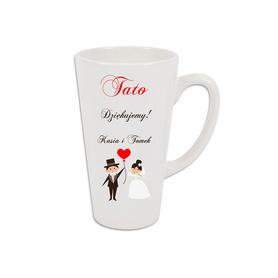 Kubek latte podziękowanie dla Rodziców 10