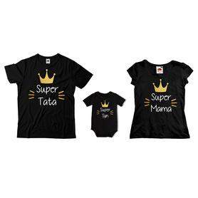 Komplet koszulek dla rodziców + body C13