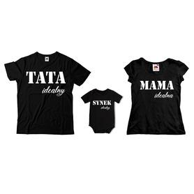 Komplet koszulek dla rodziców + body C17