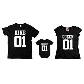 Komplet koszulek dla rodziców + body C18
