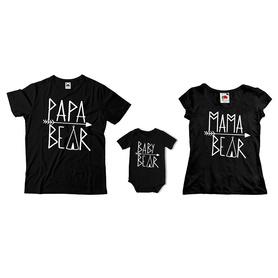 Komplet koszulek dla rodziców + body C19