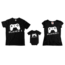 Komplet koszulek dla rodziców + body C20
