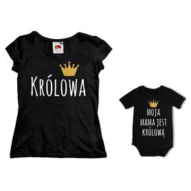 Komplet koszulka dla Mamy + body C06