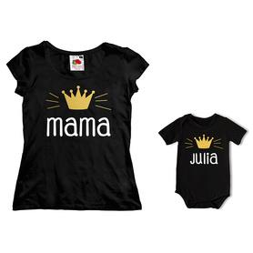 Komplet koszulka dla Mamy + body C07