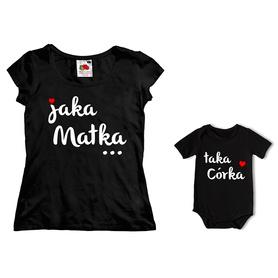 Komplet koszulka dla Mamy + body C15