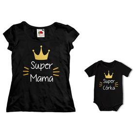 Komplet koszulka dla Mamy + body C17