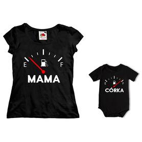 Komplet koszulka dla Mamy + body C19