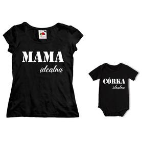 Komplet koszulka dla Mamy + body C21