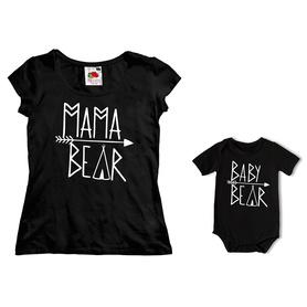 Komplet koszulka dla Mamy + body C26