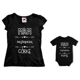 Komplet koszulka dla Mamy + body C28