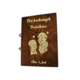 Album brązowy dla Dziadków 01