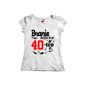 Koszulka damska na urodziny 06