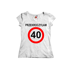 Koszulka damska na urodziny 08