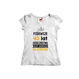Koszulka damska na urodziny 12