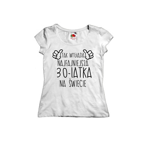 Koszulka damska na urodziny 23