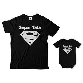 Komplet koszulka dla Taty + body C03