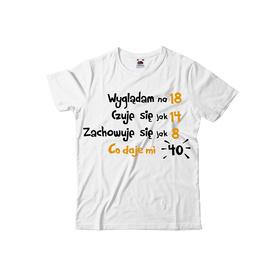 Koszulka męska na urodziny 14