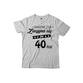 Koszulka męska na urodziny 16