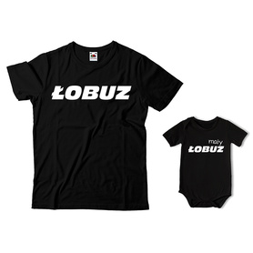 Komplet koszulka dla Taty + body C05
