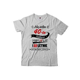 Koszulka męska na urodziny 18