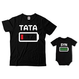 Komplet koszulka dla Taty + body C09