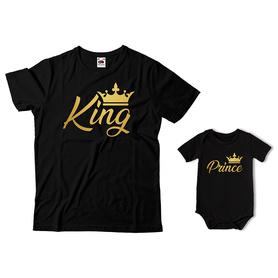 Komplet koszulka dla Taty + body C11